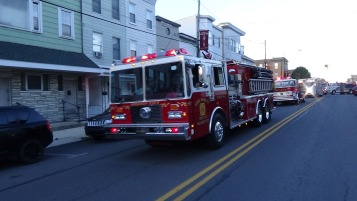 Apparatus Parade during Citz Fest, Citizens Fire Company, Mahanoy City, 8-21-2015 (89)