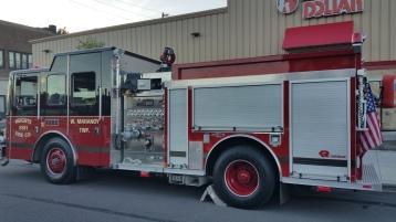 Apparatus Parade during Citz Fest, Citizens Fire Company, Mahanoy City, 8-21-2015 (9)