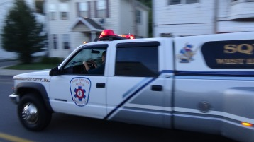 Apparatus Parade during Citz Fest, Citizens Fire Company, Mahanoy City, 8-21-2015 (96)