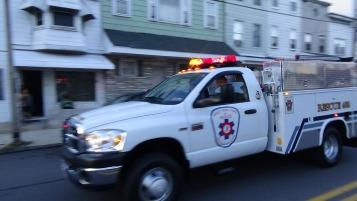 Apparatus Parade during Citz Fest, Citizens Fire Company, Mahanoy City, 8-21-2015 (97)