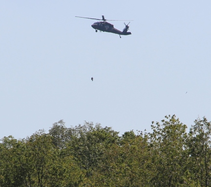 Army National Guard Helicopter Takes Part in Search for Missing Tamaqua Man (103)