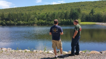 Celebrating 100 Years of PA Forestry, Owl Creek Reservoir, Tamaqua (68)