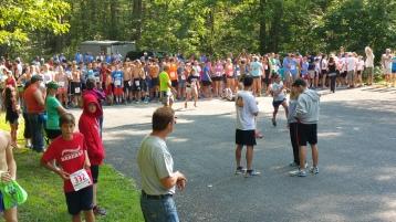 Chris and Kevin Truskey 5K, 10K, Run, Walk, Tuscarora State Park, Barnesville, 8-29-2015 (1)