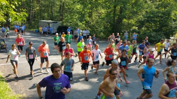 Chris and Kevin Truskey 5K, 10K, Run, Walk, Tuscarora State Park, Barnesville, 8-29-2015 (101)