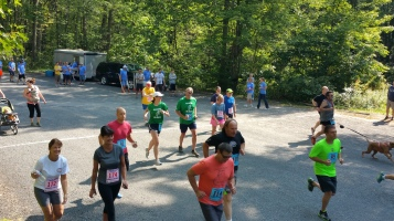 Chris and Kevin Truskey 5K, 10K, Run, Walk, Tuscarora State Park, Barnesville, 8-29-2015 (103)
