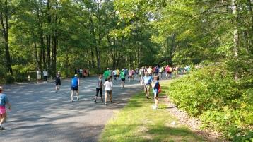 Chris and Kevin Truskey 5K, 10K, Run, Walk, Tuscarora State Park, Barnesville, 8-29-2015 (108)