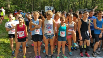 Chris and Kevin Truskey 5K, 10K, Run, Walk, Tuscarora State Park, Barnesville, 8-29-2015 (11)