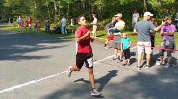 Chris and Kevin Truskey 5K, 10K, Run, Walk, Tuscarora State Park, Barnesville, 8-29-2015 (116)