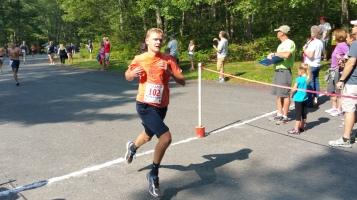 Chris and Kevin Truskey 5K, 10K, Run, Walk, Tuscarora State Park, Barnesville, 8-29-2015 (127)
