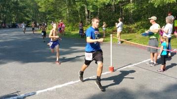 Chris and Kevin Truskey 5K, 10K, Run, Walk, Tuscarora State Park, Barnesville, 8-29-2015 (134)