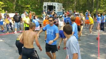 Chris and Kevin Truskey 5K, 10K, Run, Walk, Tuscarora State Park, Barnesville, 8-29-2015 (140)