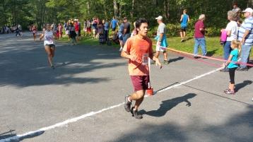 Chris and Kevin Truskey 5K, 10K, Run, Walk, Tuscarora State Park, Barnesville, 8-29-2015 (154)