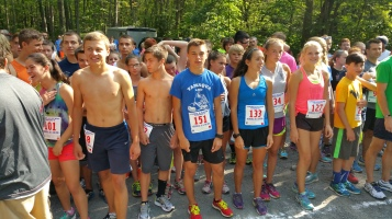 Chris and Kevin Truskey 5K, 10K, Run, Walk, Tuscarora State Park, Barnesville, 8-29-2015 (16)