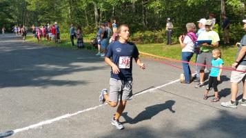 Chris and Kevin Truskey 5K, 10K, Run, Walk, Tuscarora State Park, Barnesville, 8-29-2015 (161)