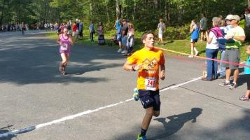 Chris and Kevin Truskey 5K, 10K, Run, Walk, Tuscarora State Park, Barnesville, 8-29-2015 (169)