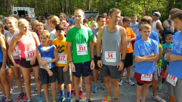 Chris and Kevin Truskey 5K, 10K, Run, Walk, Tuscarora State Park, Barnesville, 8-29-2015 (18)