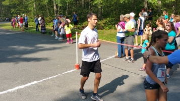 Chris and Kevin Truskey 5K, 10K, Run, Walk, Tuscarora State Park, Barnesville, 8-29-2015 (183)