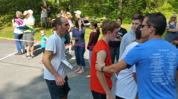 Chris and Kevin Truskey 5K, 10K, Run, Walk, Tuscarora State Park, Barnesville, 8-29-2015 (193)