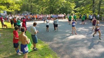 Chris and Kevin Truskey 5K, 10K, Run, Walk, Tuscarora State Park, Barnesville, 8-29-2015 (2)