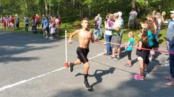 Chris and Kevin Truskey 5K, 10K, Run, Walk, Tuscarora State Park, Barnesville, 8-29-2015 (201)