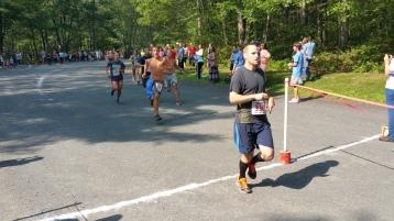 Chris and Kevin Truskey 5K, 10K, Run, Walk, Tuscarora State Park, Barnesville, 8-29-2015 (202)