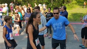 Chris and Kevin Truskey 5K, 10K, Run, Walk, Tuscarora State Park, Barnesville, 8-29-2015 (212)