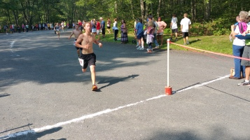 Chris and Kevin Truskey 5K, 10K, Run, Walk, Tuscarora State Park, Barnesville, 8-29-2015 (213)