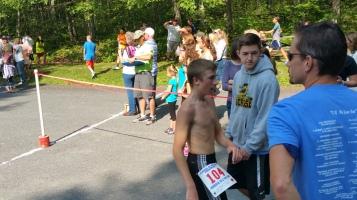 Chris and Kevin Truskey 5K, 10K, Run, Walk, Tuscarora State Park, Barnesville, 8-29-2015 (215)