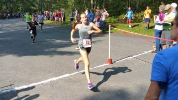 Chris and Kevin Truskey 5K, 10K, Run, Walk, Tuscarora State Park, Barnesville, 8-29-2015 (216)