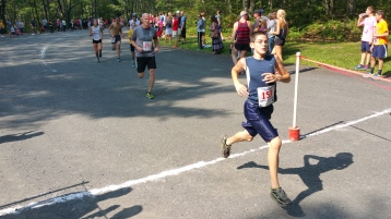 Chris and Kevin Truskey 5K, 10K, Run, Walk, Tuscarora State Park, Barnesville, 8-29-2015 (222)