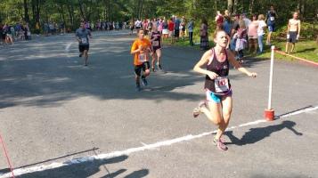 Chris and Kevin Truskey 5K, 10K, Run, Walk, Tuscarora State Park, Barnesville, 8-29-2015 (239)