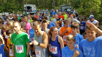 Chris and Kevin Truskey 5K, 10K, Run, Walk, Tuscarora State Park, Barnesville, 8-29-2015 (24)