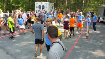 Chris and Kevin Truskey 5K, 10K, Run, Walk, Tuscarora State Park, Barnesville, 8-29-2015 (242)