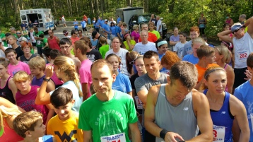 Chris and Kevin Truskey 5K, 10K, Run, Walk, Tuscarora State Park, Barnesville, 8-29-2015 (25)