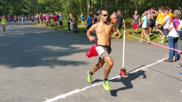 Chris and Kevin Truskey 5K, 10K, Run, Walk, Tuscarora State Park, Barnesville, 8-29-2015 (253)