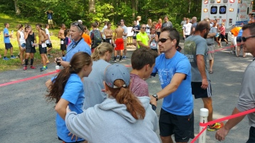 Chris and Kevin Truskey 5K, 10K, Run, Walk, Tuscarora State Park, Barnesville, 8-29-2015 (270)