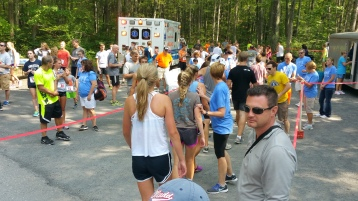 Chris and Kevin Truskey 5K, 10K, Run, Walk, Tuscarora State Park, Barnesville, 8-29-2015 (276)