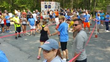 Chris and Kevin Truskey 5K, 10K, Run, Walk, Tuscarora State Park, Barnesville, 8-29-2015 (282)