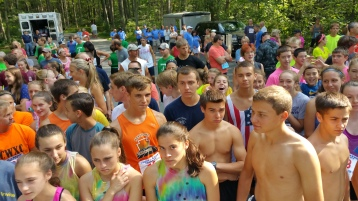 Chris and Kevin Truskey 5K, 10K, Run, Walk, Tuscarora State Park, Barnesville, 8-29-2015 (29)