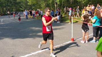Chris and Kevin Truskey 5K, 10K, Run, Walk, Tuscarora State Park, Barnesville, 8-29-2015 (302)