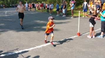 Chris and Kevin Truskey 5K, 10K, Run, Walk, Tuscarora State Park, Barnesville, 8-29-2015 (304)