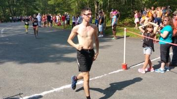 Chris and Kevin Truskey 5K, 10K, Run, Walk, Tuscarora State Park, Barnesville, 8-29-2015 (305)