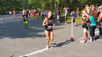 Chris and Kevin Truskey 5K, 10K, Run, Walk, Tuscarora State Park, Barnesville, 8-29-2015 (306)