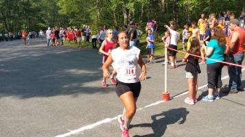 Chris and Kevin Truskey 5K, 10K, Run, Walk, Tuscarora State Park, Barnesville, 8-29-2015 (308)