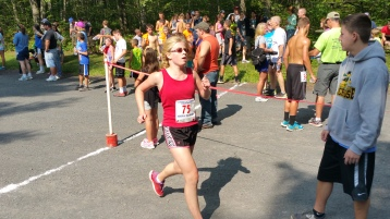 Chris and Kevin Truskey 5K, 10K, Run, Walk, Tuscarora State Park, Barnesville, 8-29-2015 (309)