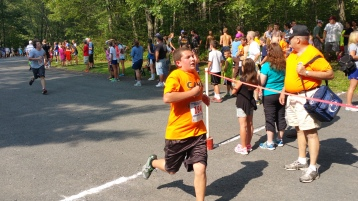 Chris and Kevin Truskey 5K, 10K, Run, Walk, Tuscarora State Park, Barnesville, 8-29-2015 (311)