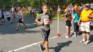 Chris and Kevin Truskey 5K, 10K, Run, Walk, Tuscarora State Park, Barnesville, 8-29-2015 (313)