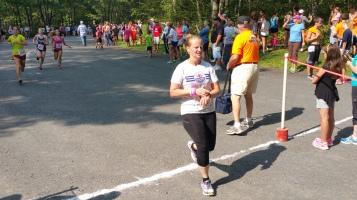 Chris and Kevin Truskey 5K, 10K, Run, Walk, Tuscarora State Park, Barnesville, 8-29-2015 (314)