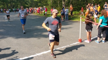 Chris and Kevin Truskey 5K, 10K, Run, Walk, Tuscarora State Park, Barnesville, 8-29-2015 (318)