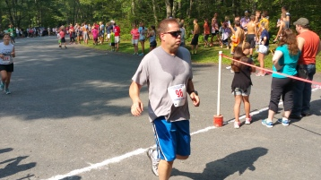 Chris and Kevin Truskey 5K, 10K, Run, Walk, Tuscarora State Park, Barnesville, 8-29-2015 (319)